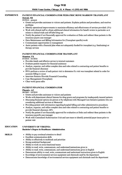 Patient Resume Samples | Velvet Jobs