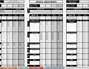 personal workout template personal trainer workout template eoua