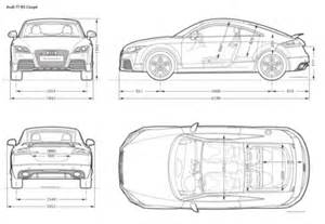 audi blueprints audi tt rs coupe 2010 free textures