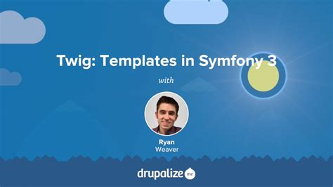 twig templates in symfony 3 drupalize me