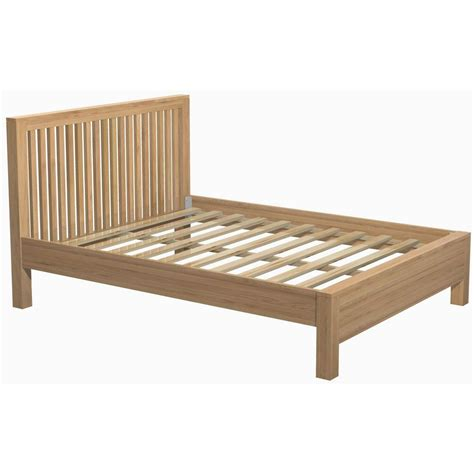 Mattress On Bed Frame Genoa Oak Bed Frame Up To 60 Rrp Next Day Select Day Delivery