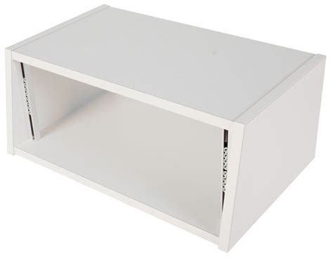 thomann studio desk thon studio desktop rack 4u white thomann uk