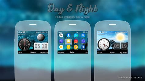 themes nokia asha 205 day night theme asha 302 s40 320x240 asha 200 themes