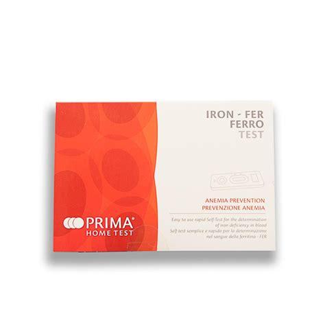 iron deficiency test kit 1 test