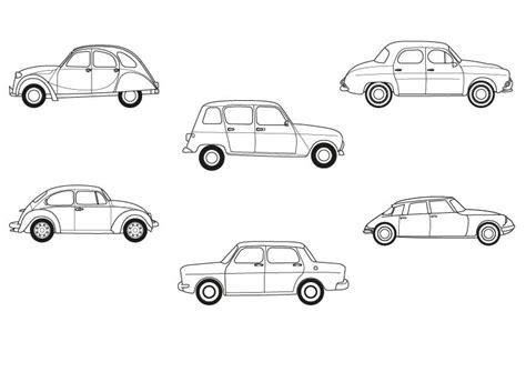juegos gratis para ninos de pintar carros coches antiguos dibujo para colorear e imprimir