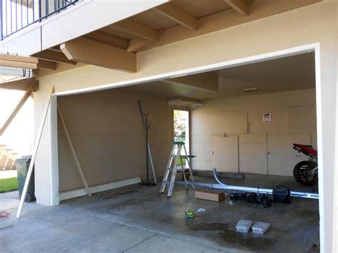 how to install overhead door installing low overhead garage door version free