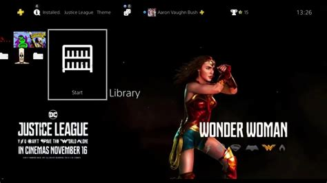 free ps4 themes uk justice league free ps4 theme youtube