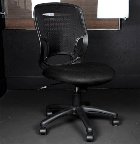 Rolling Chair - black rolling office chair ebth