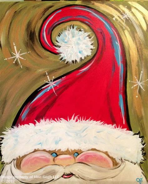 prop up some art 15 easy christmas decorations real simple 15 easy canvas painting ideas for christmas 2017