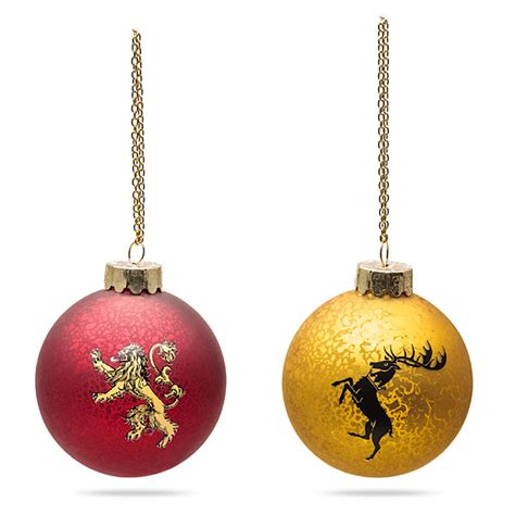 game of thrones christmas ornaments