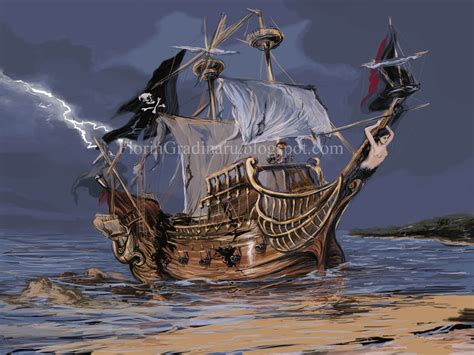 pirate boat pirate boat by graflo on deviantart