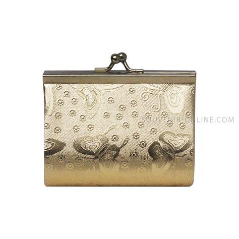 Souvenir Dompet Holo Bungan Tanggung dompet holo emas tanggung box