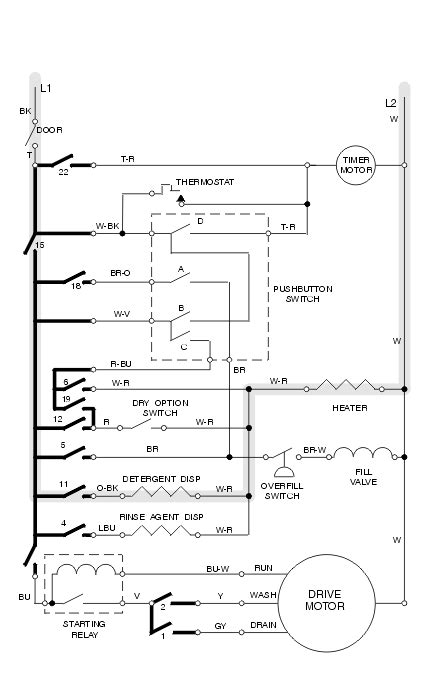 wiring diagram of ifb washing machine style by