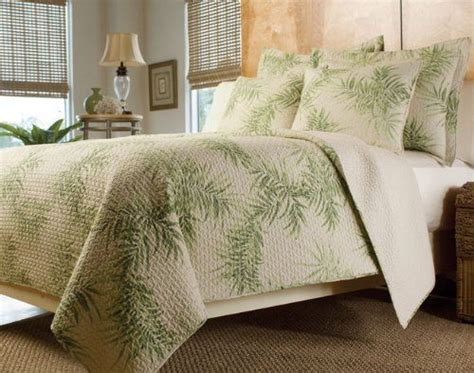 tropical bedding sets king tropical palm tree green bedding quilt set king by