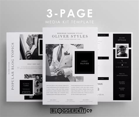 media kit design template best 25 press kits ideas on