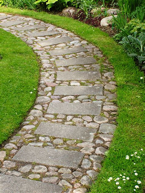 rock pathways thinking about what i am going to do for my front walkway