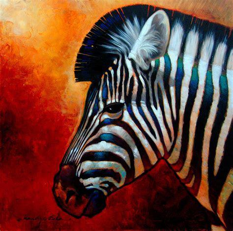 zebra paint z for zebra painting by kanayo ede