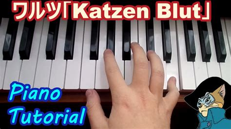 piano tutorial year of the cat piano tutorial ワルツ katzen blut the cat returns youtube