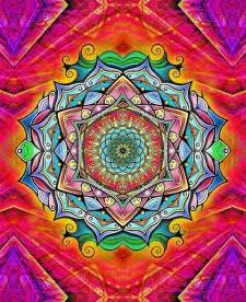 colorful mandala 191 best images about mandalas fractal patterns of color