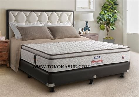 Matras Alga Bed alga pillow top deluxe toko kasur bed murah