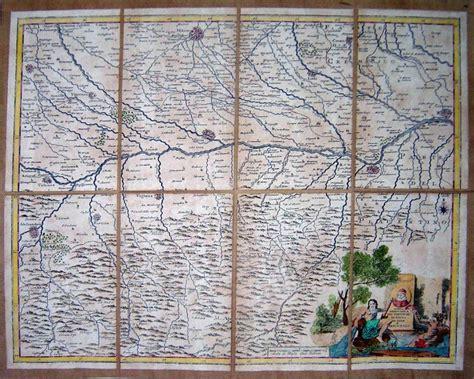 pavia cartina geografica carta geografica dei territori di pavia di lodi e di
