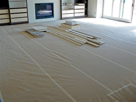 wood floor protection floor shielding and protection hardwood flooring