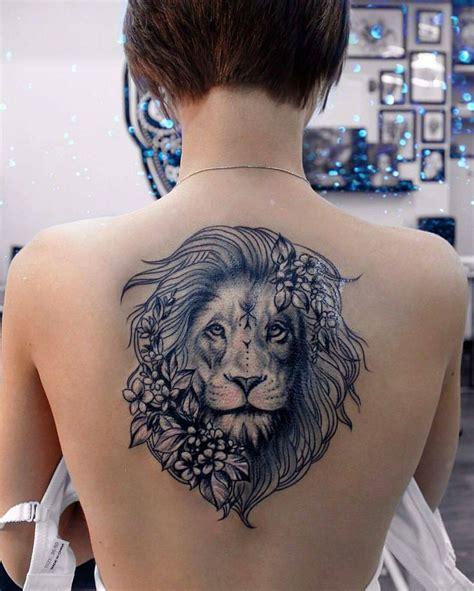 tattoo back lion best 25 lion back tattoo ideas on pinterest lion tattoo
