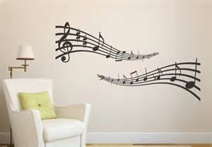 Wall Stickers Music musical notes wall decal music vinyl sticker decor