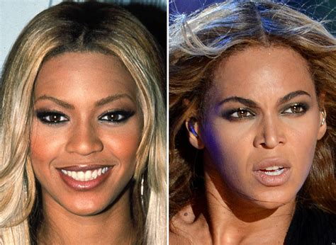Did Get A Nose by Beyonc 233 Nose Did The Singer Really Debut New Snout At