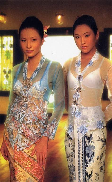 Dress Tunic Batik Asli peranakan kebaya traditional costume of my ancestors