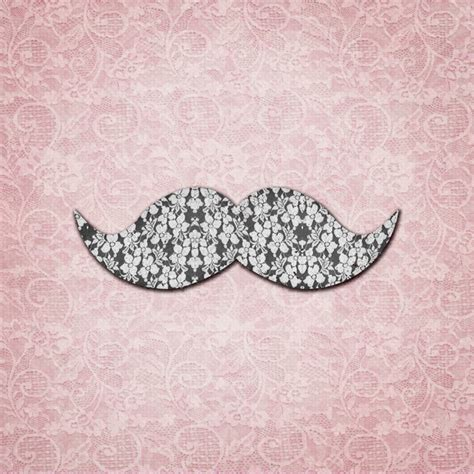 girly mustache wallpaper girly floral lace mustache pink floral lace art print