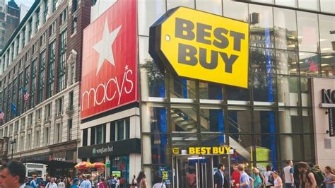 where to buy capacitors in nyc department store macy s to host space for electronics shop best buy in quest for
