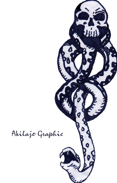 death eater mark draw 009 by akilajographic on deviantart