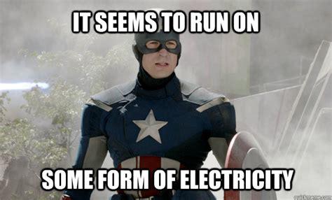 Electricity Meme - legolas vs captain america battles comic vine