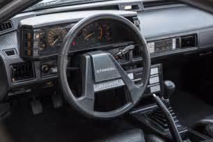 Mitsubishi Starion Interior Kidney Anyone 58k Mile Mitsubishi Starion Japanese