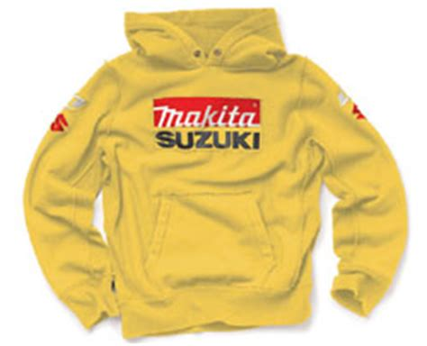 Suzuki Sweatshirt Makita Suzuki Sweatshirt Yellow