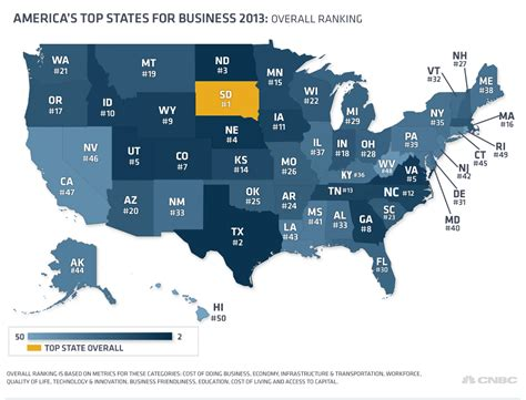 Top Mba Programs Nj by Here Are America S Top States For Business Theblaze
