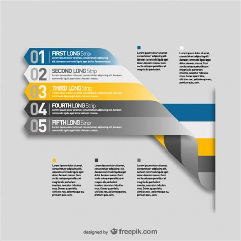 menu design label labels menu template infograpy vector free download
