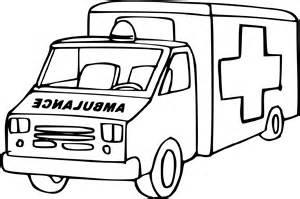 coloriage ambulance 224 imprimer sur coloriages