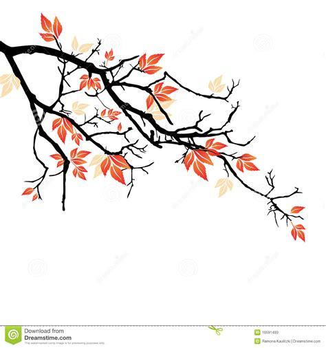 Tree Branch Wall Sticker autumn branch stock illustration image of dark tree