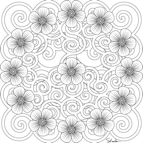 coloring book for adults imgur for your coloring pleasure gel medium flower images and