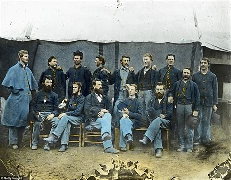civil war pictures in color the civil war in color heroic brought to as
