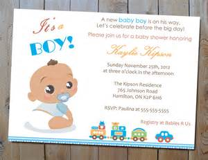 invitations for baby shower boy theruntime