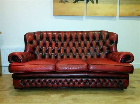 high back chesterfield sofa sold high back grand waxed