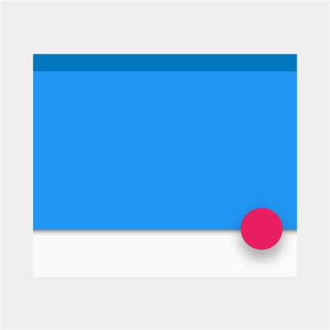material design reveal effect elevation shadows material design