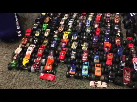 monster truck jam youtube monster jam truck collection 2016 youtube