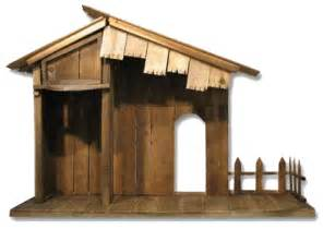 Nativity stable 30 tall x 47 wide x 18 deep perfect for 18 24 nativity