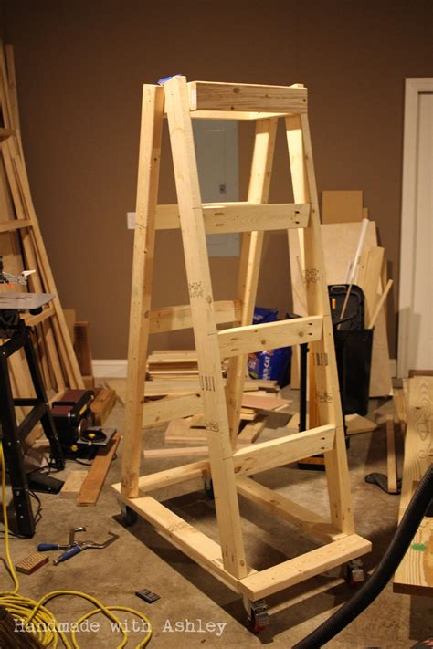 Wood Storage Rack Design by Diy Mobile Lumber Rack Plans By Rogue Engineer