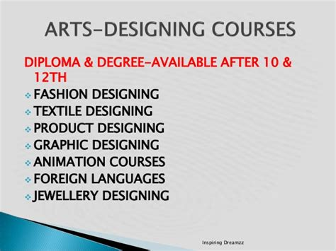 graphic designing courses fine arts education after 12th career guidance planning after 10th 12th