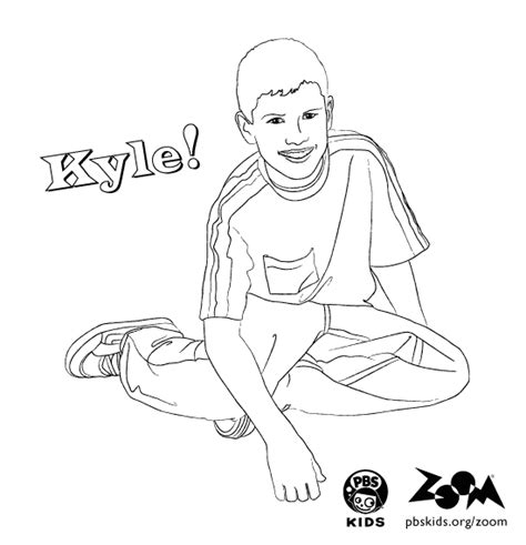 zoom coloring page zoom printables kyle s coloring page pbs kids